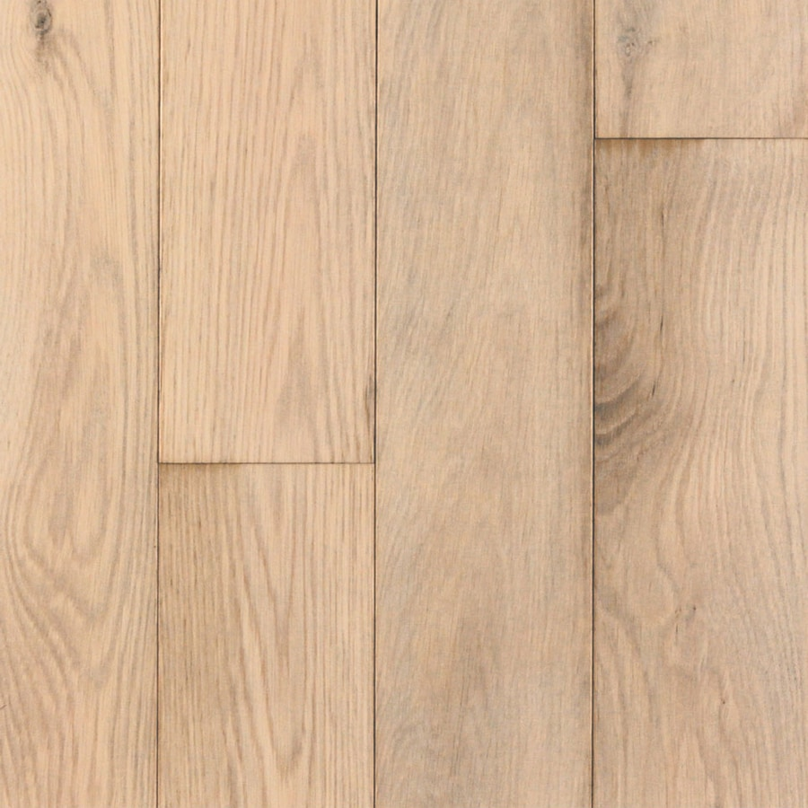 Shop mullican flooring castillian 5 in w prefinished oak for Prefinished flooring