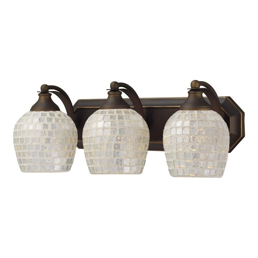 Westmore Lighting Homestead 3-Light Aged Bronze Bowl Vanity Light