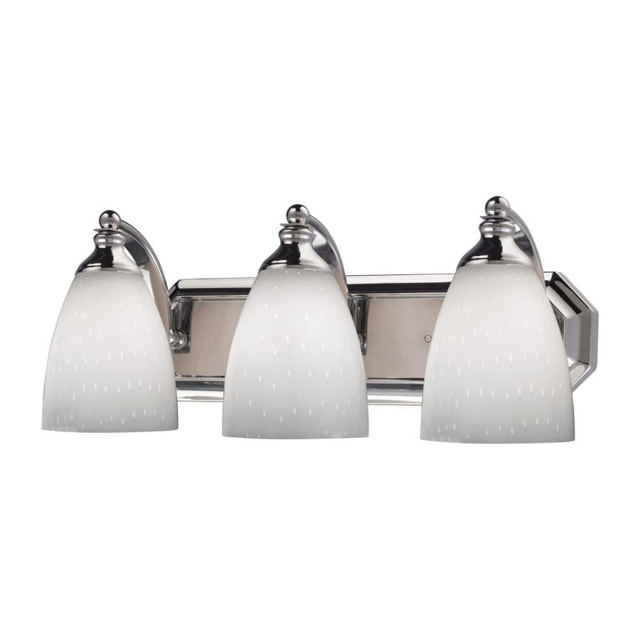 Westmore Lighting Homestead 3-Light Polished Chrome Oval Vanity Light