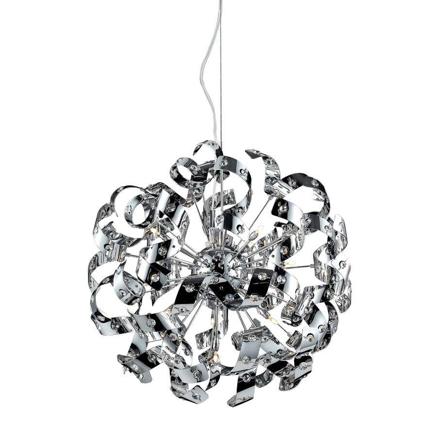 Westmore Lighting Gust 22-in Polished Chrome Single Pendant