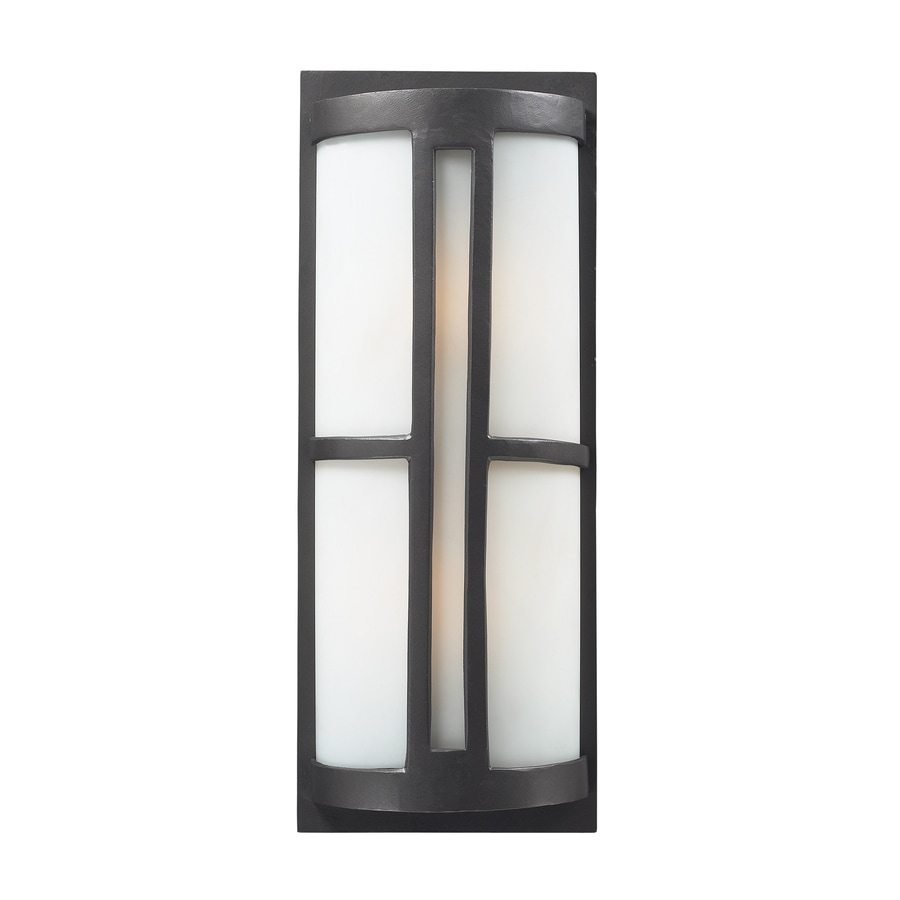 Westmore Lighting Nottingham 22-in H Graphite Outdoor Wall Light