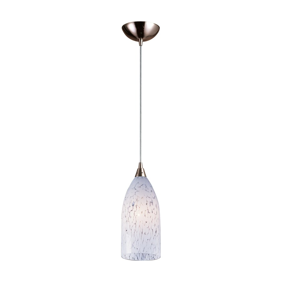 Westmore Lighting 5-in Satin Nickel Mini Pendant