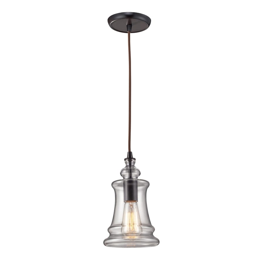 Shop Westmore Lighting Alvingham 6-in Oiled Bronze Mini