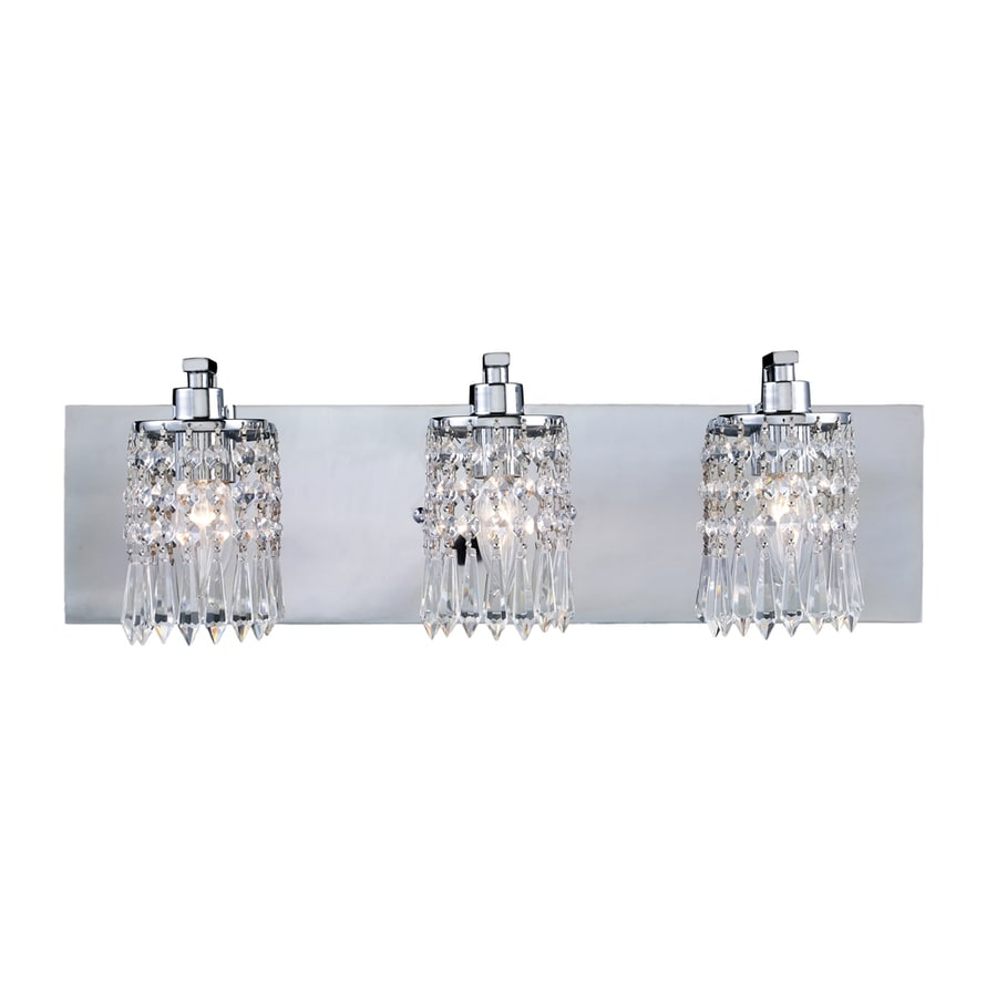 Westmore Lighting Lucencia 3-Light Polished Chrome Vanity Light