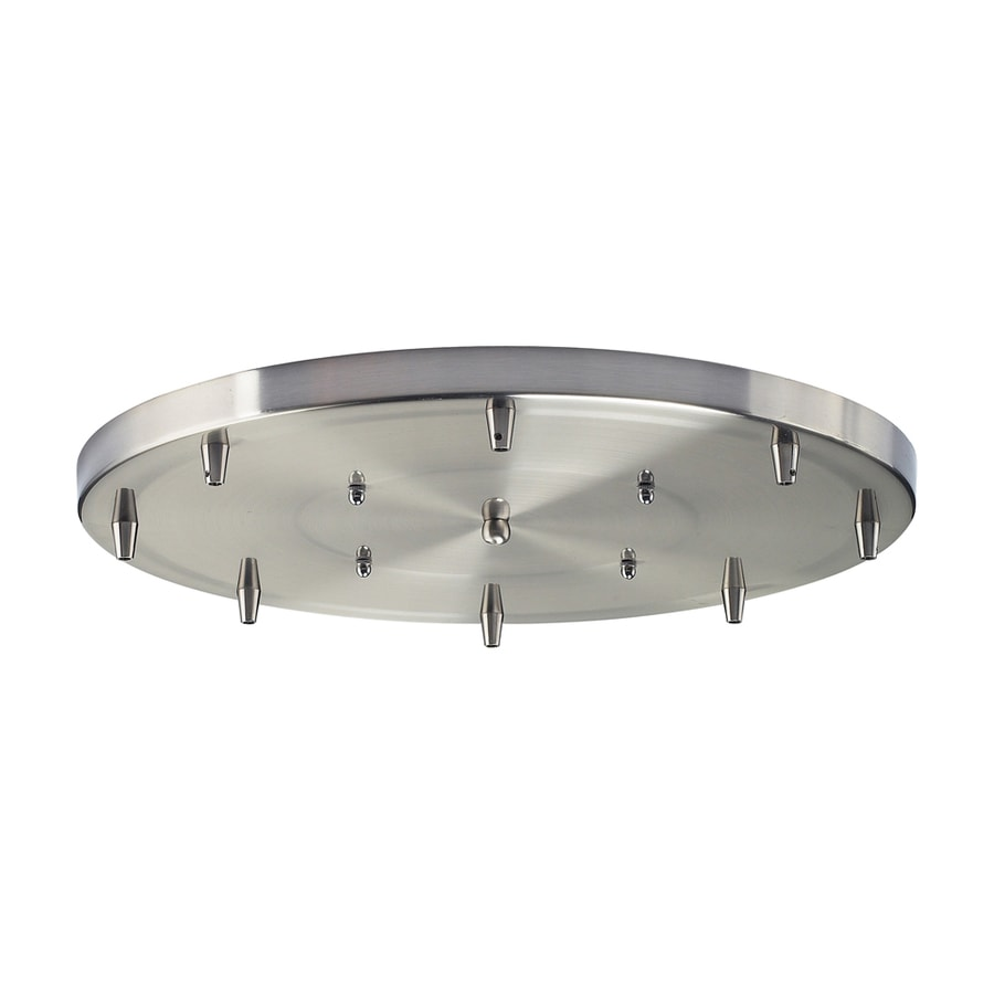 Westmore Lighting Great Basin Accessories Satin Nickel Metal Ceiling Light Mount