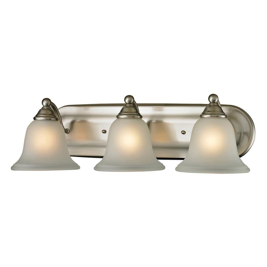 Westmore Lighting Wyndmoor 3-Light Brushed Nickel Bell Vanity Light