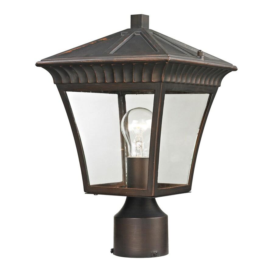 Westmore Lighting Colebrook 14.5-in H Hazelnut Bronze Post Light