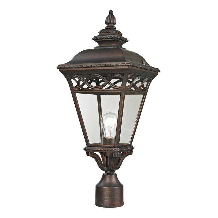 Westmore Lighting Beauport 22.4-in H Hazelnut Bronze Post Light
