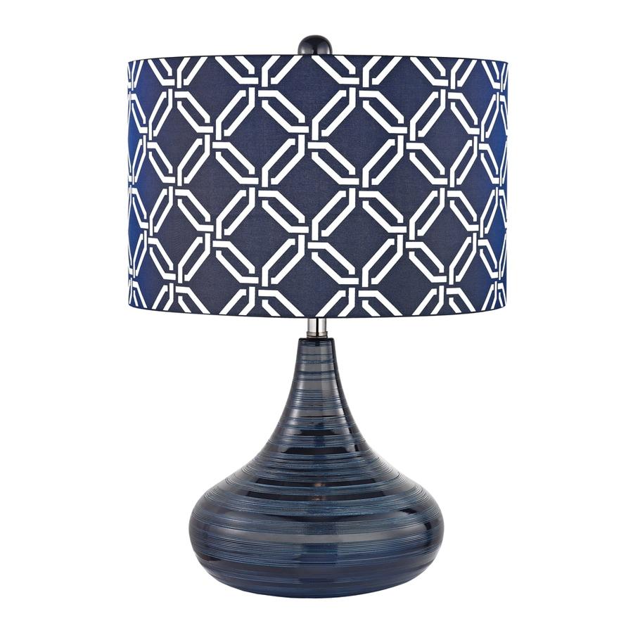 Shop Westmore Lighting Mccarol 21 In Navy Blue Indoor