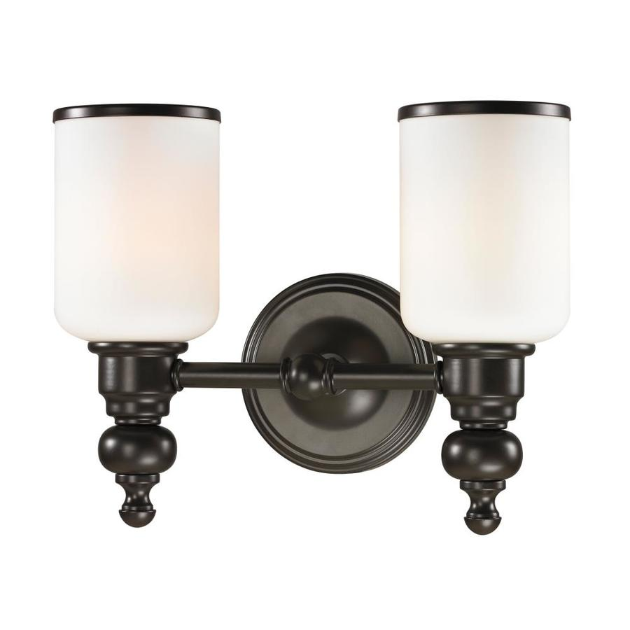 Westmore Lighting Trimalchio 2-Light Oil Rubbed Bronze Cylinder Vanity Light