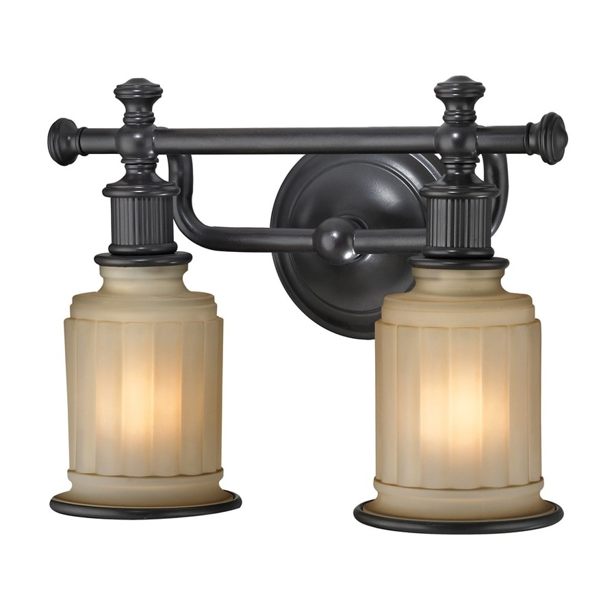 Shop Westmore Lighting Nicolette 2-Light Oil Rubbed Bronze Bell Vanity Light at Lowes.com