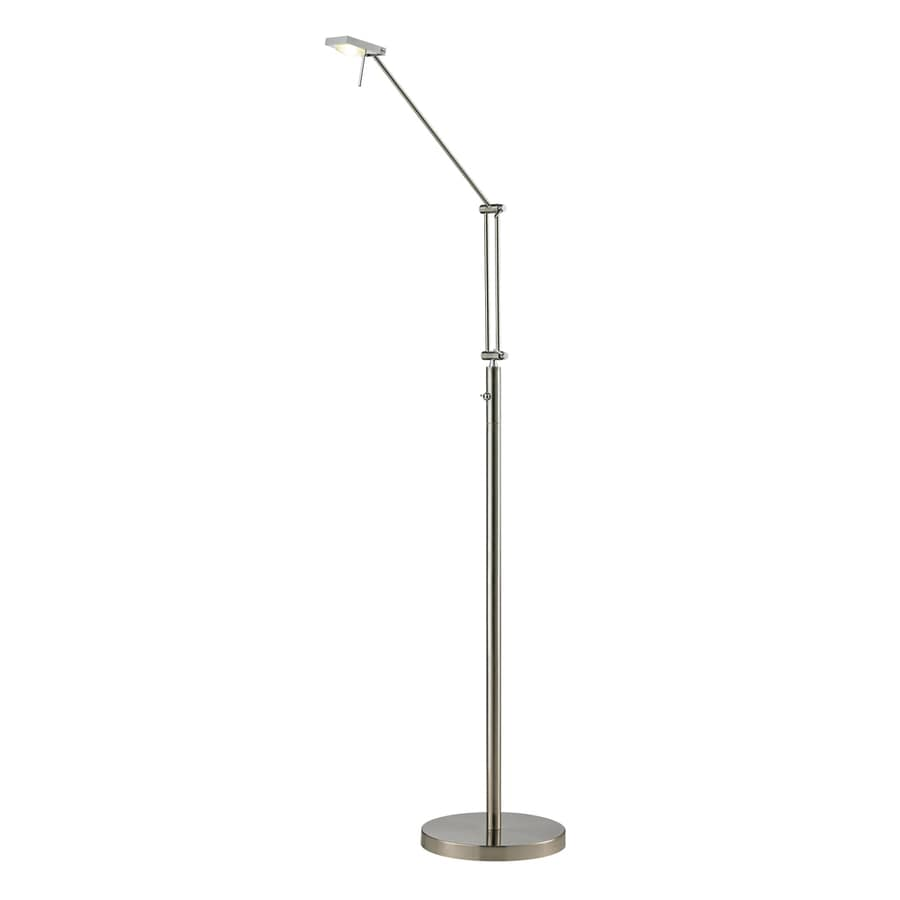 Westmore Lighting Calistoga 56-in Brushed Nickel/Brushed Aluminum LED Indoor Floor Lamp