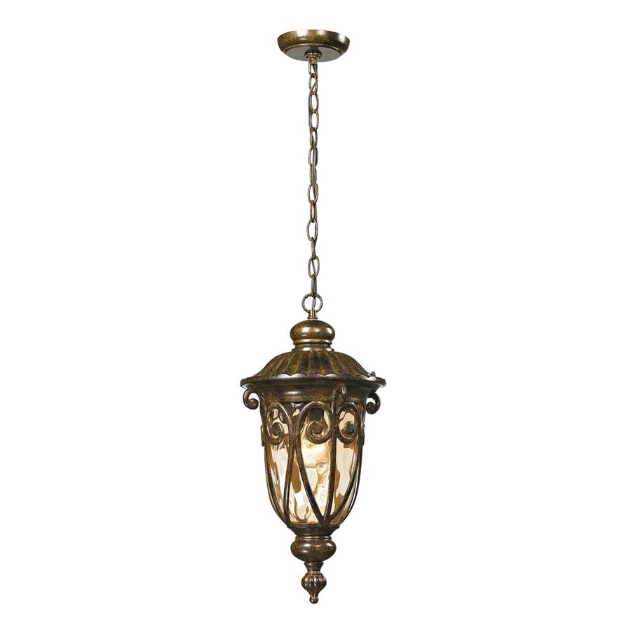 Westmore Lighting Bingley 20-in Hazelnut Bronze Outdoor Pendant Light