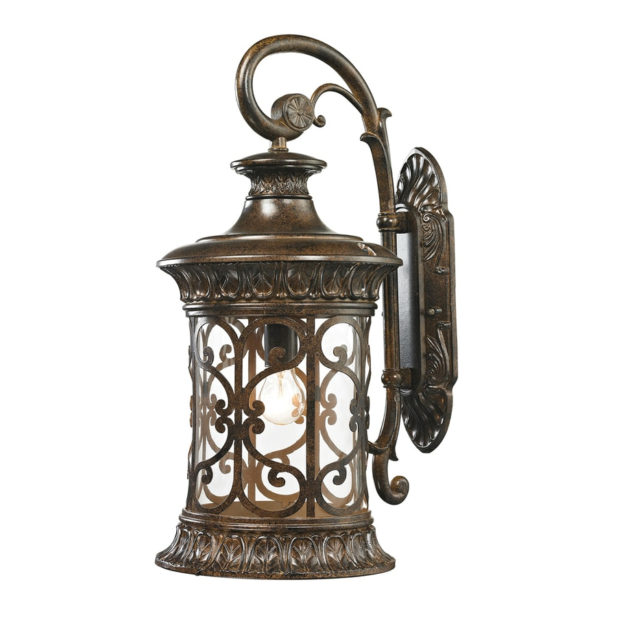 Westmore Lighting Cosette 24-in H Hazelnut Bronze Outdoor Wall Light