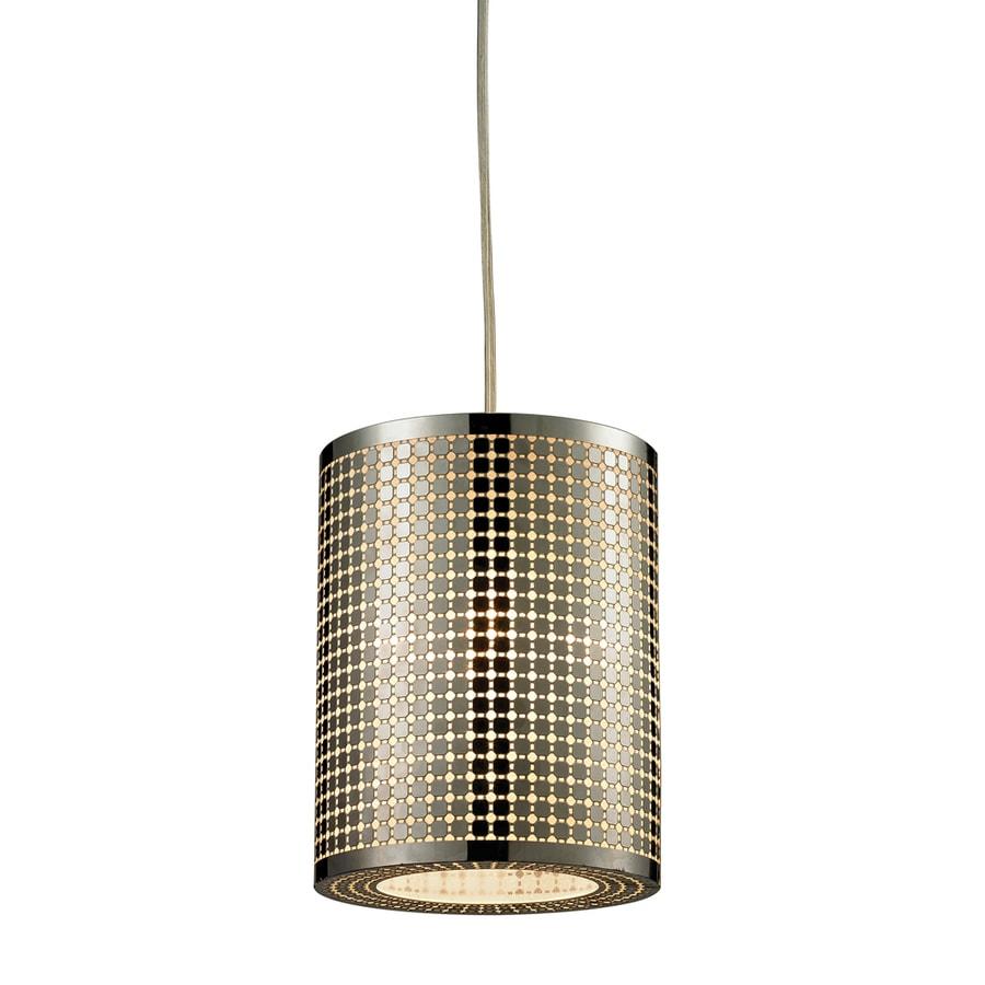 Westmore Lighting Manhattan 6-in Satin Nickel Mini Pendant