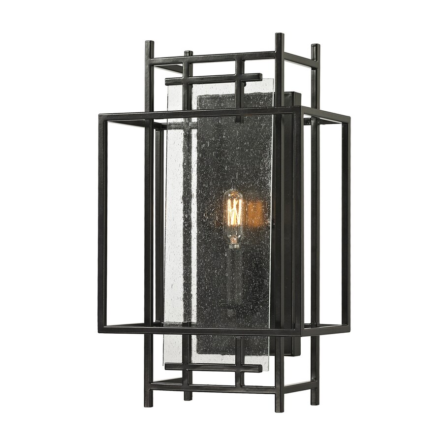 Candle Wall Sconces Oil Rubbed Bronze : Shop Westmore Lighting Escher 10-in W 1-Light Oil Rubbed Bronze Candle Hardwired Wall Sconce at ...