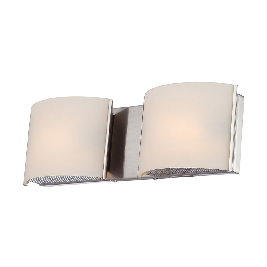 Westmore Lighting Stroud 2-Light Polished Chrome Vanity Light