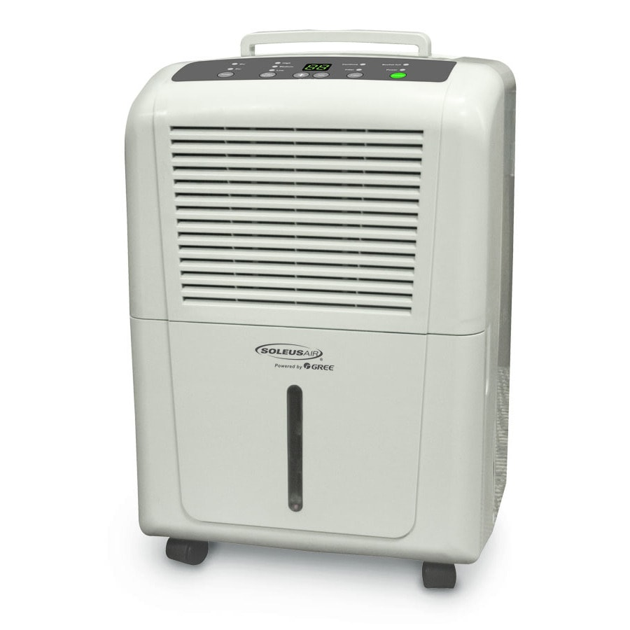 Soleus Powered by Gree 30-Pint 3-Speed Dehumidifier ENERGY STAR