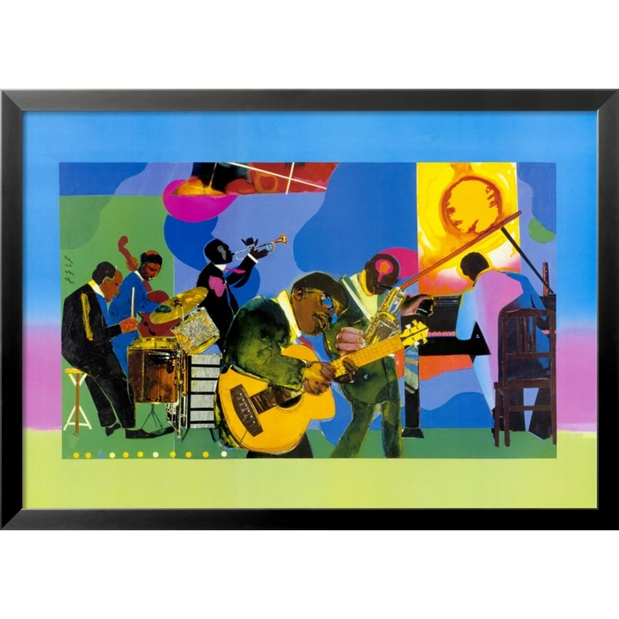 art.com 33-in W x 24-in H Framed Figurative Wall Art