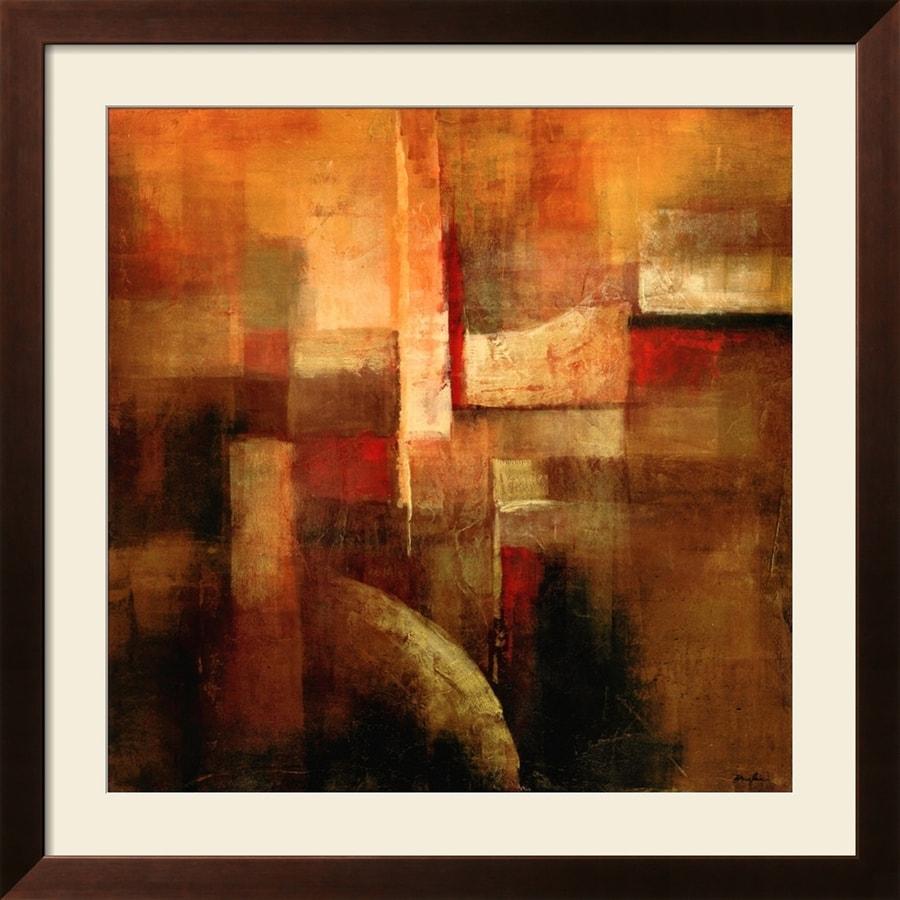 """art.com 34""""W x 34""""H Abstract Framed Wall Art"""