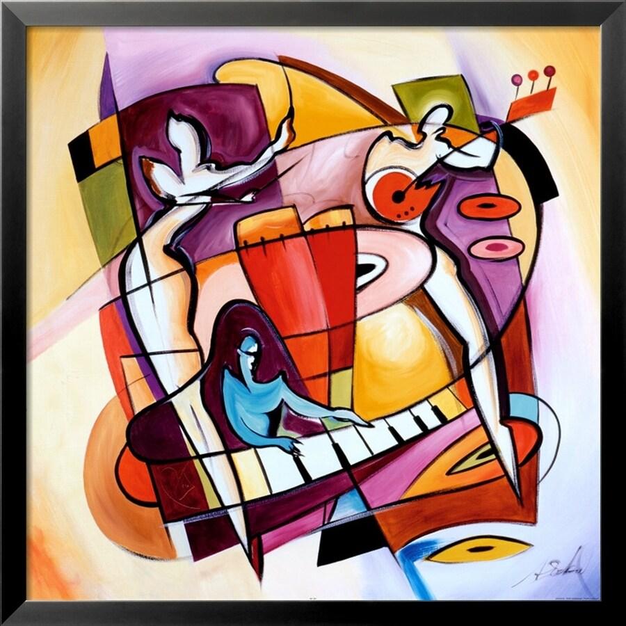 art.com 29-in W x 29-in H Framed Figurative Wall Art