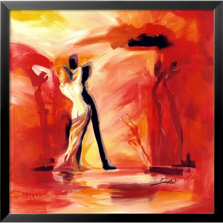 art.com 29-in W x 29-in H Framed Figurative Wall Art
