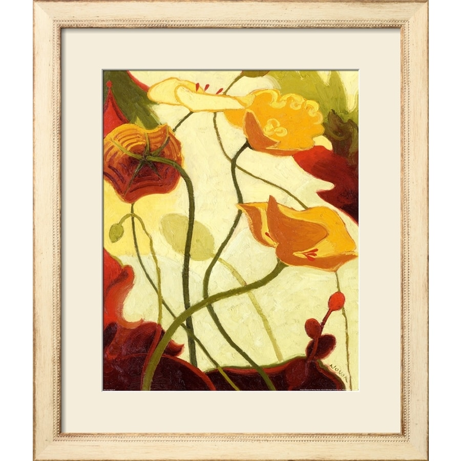 art.com 24-in W x 28-in H Framed Floral and Botanical Wall Art