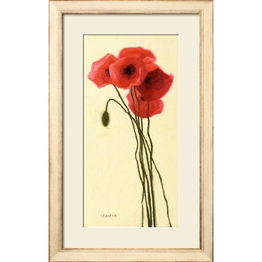 """art.com 20""""W x 32""""H Floral and Botanical Framed Art Wall Art"""