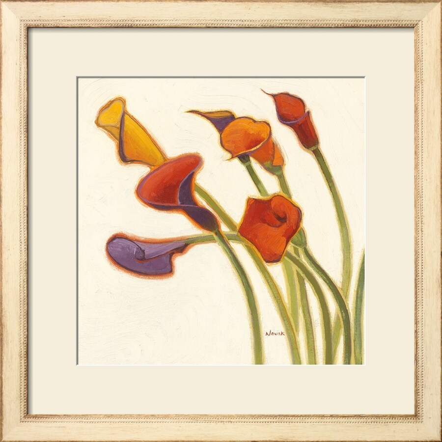 art.com 27-in W x 27-in H Framed Floral and Botanical Wall Art