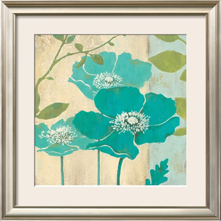 art.com 28-in W x 28-in H Framed Floral & Botanical Wall Art