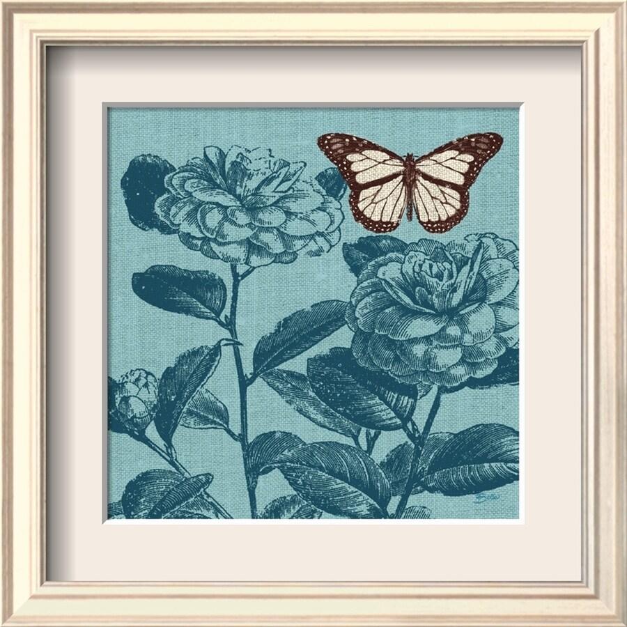 "art.com 10""W x 10""H Floral & Botanical Framed Art"
