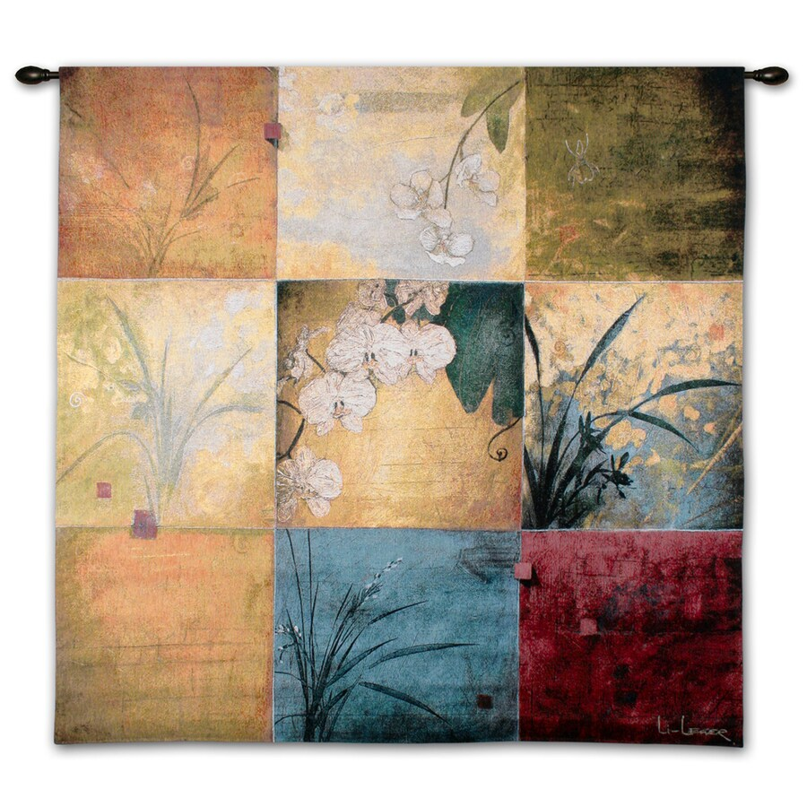 """art.com 38""""W x 53""""H Floral and Botanical Wall Tapestries Wall Art"""
