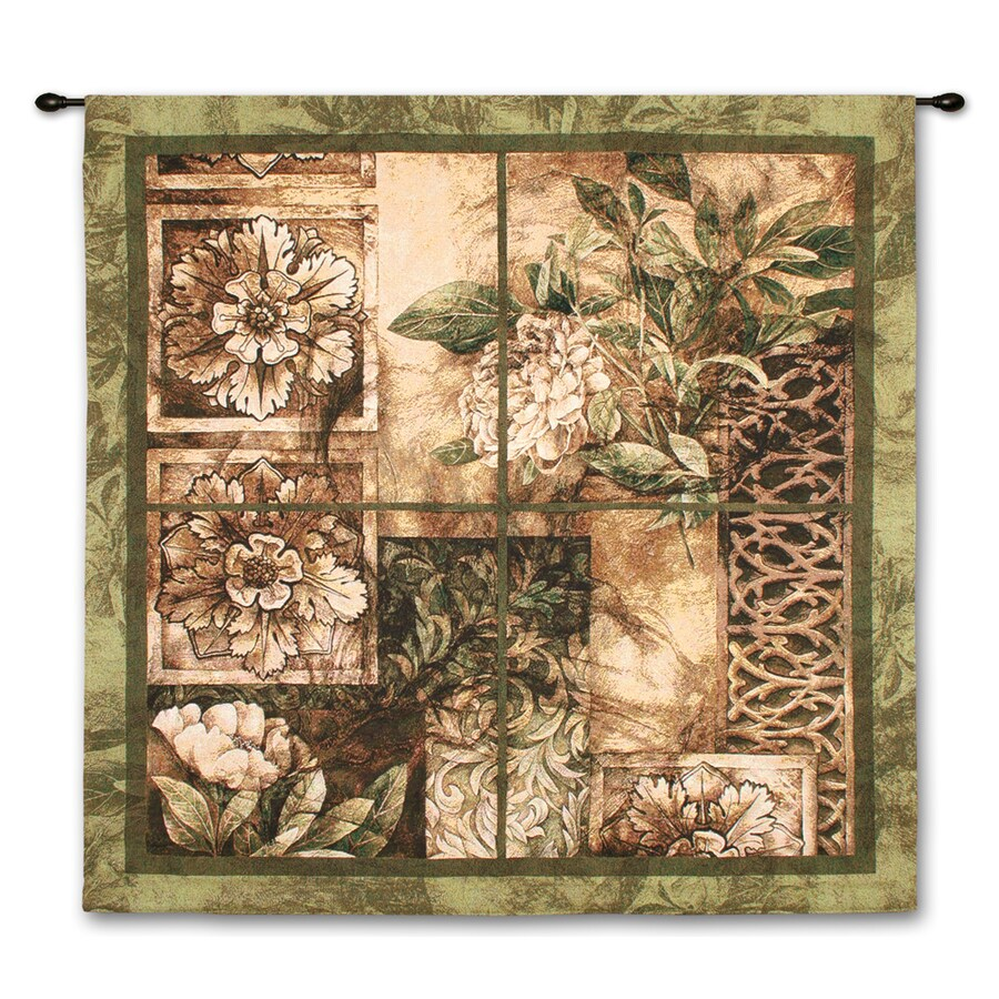 """art.com 40""""W x 53""""H Floral and Botanical Wall Tapestries Wall Art"""