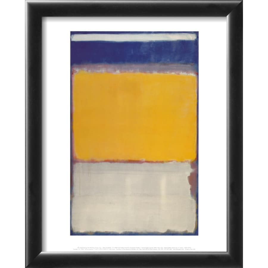 art.com 13-in W x 16-in H Abstract Framed Art