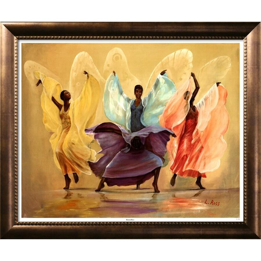"""art.com 35-1/2""""W x 29-1/2""""H World Cultures Framed Art"""