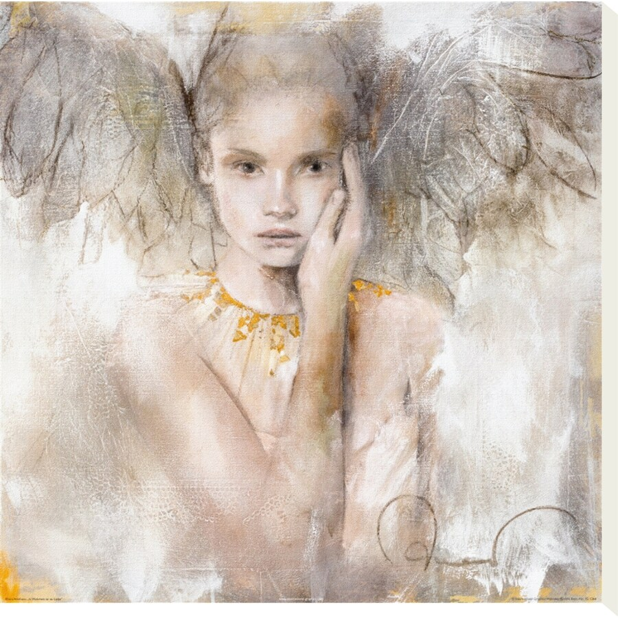 art.com 20-in W x 20-in H Canvas Figurative Wall Art