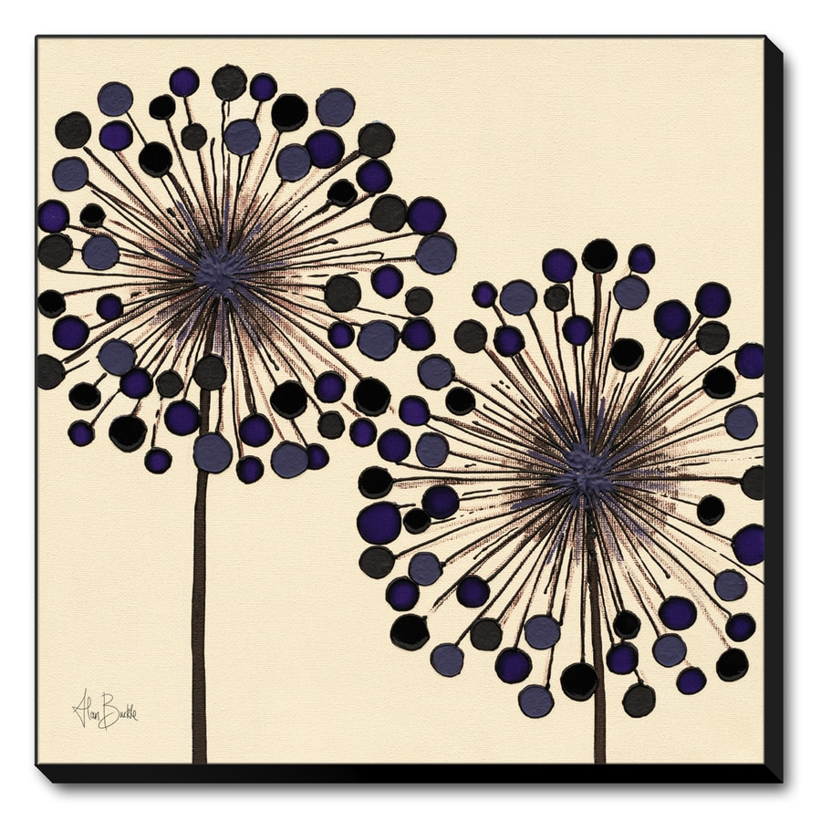 art.com 19.75-in W x 19.75-in H Canvas Floral and Botanical Wall Art