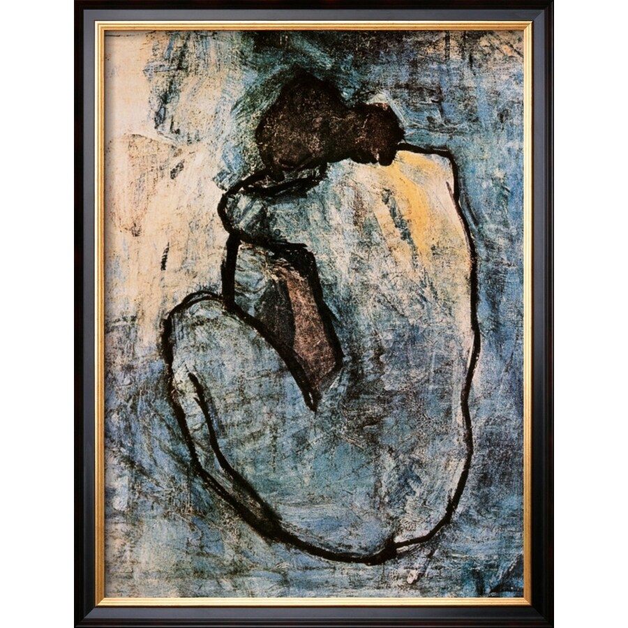 art.com 20-in W x 26-in H Framed Figurative Wall Art