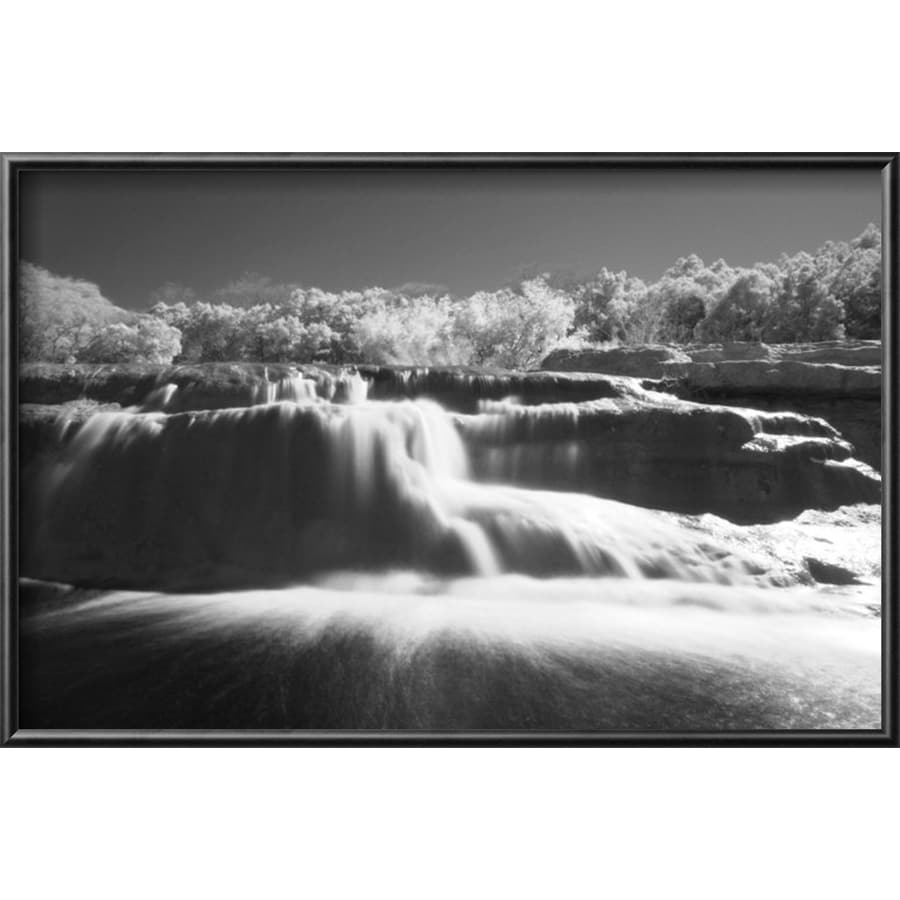 art.com 18.25-in W x 12.25-in H Framed Places Wall Art