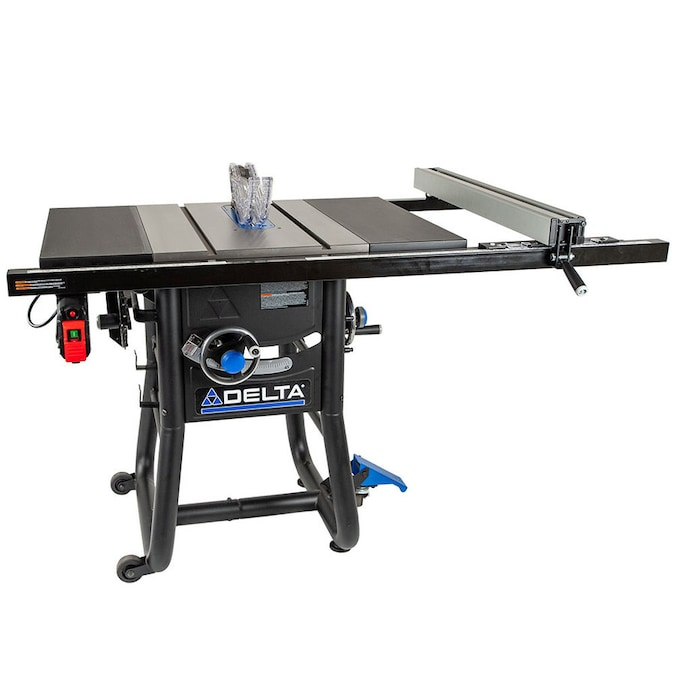 Delta Contractor Saws 10 In Carbide Tipped Blade 15 Amp Table Saw In The Table Saws Department At Lowes Com