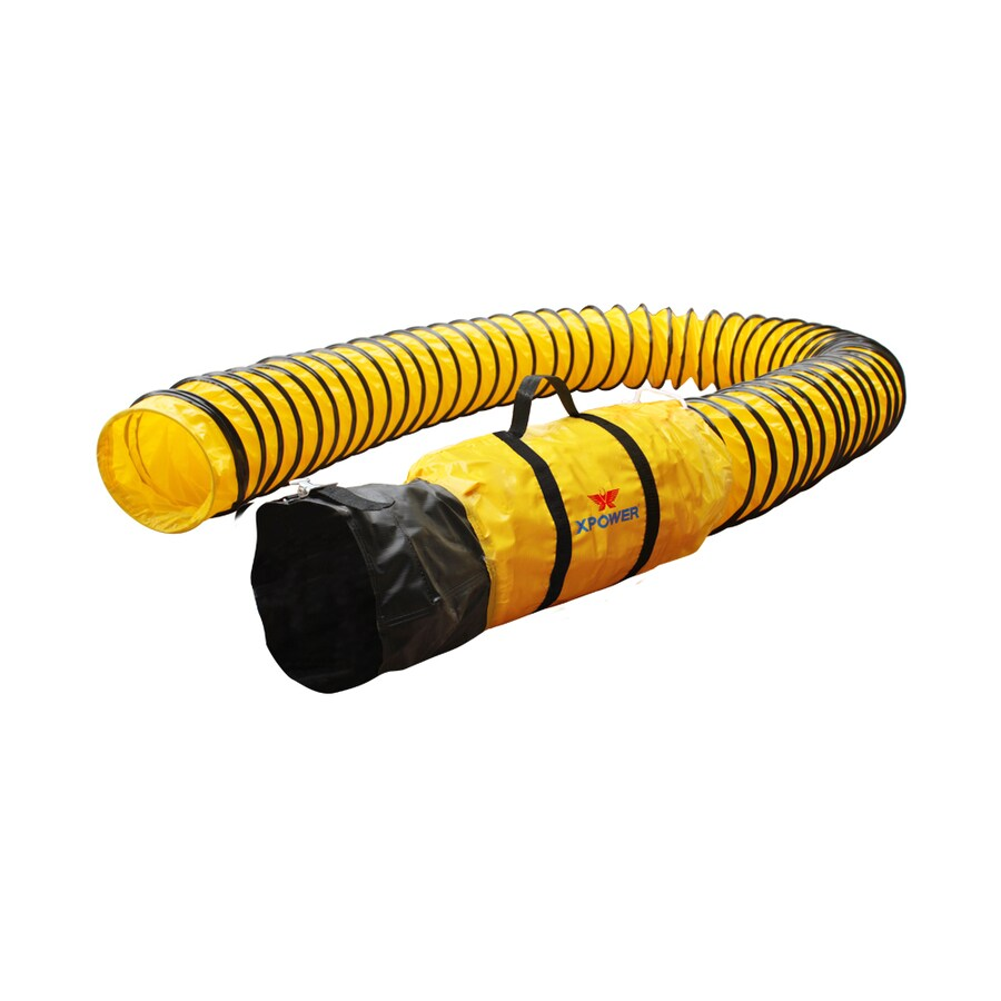 XPOWER 8-in x 300-in Polyester Flexible Duct
