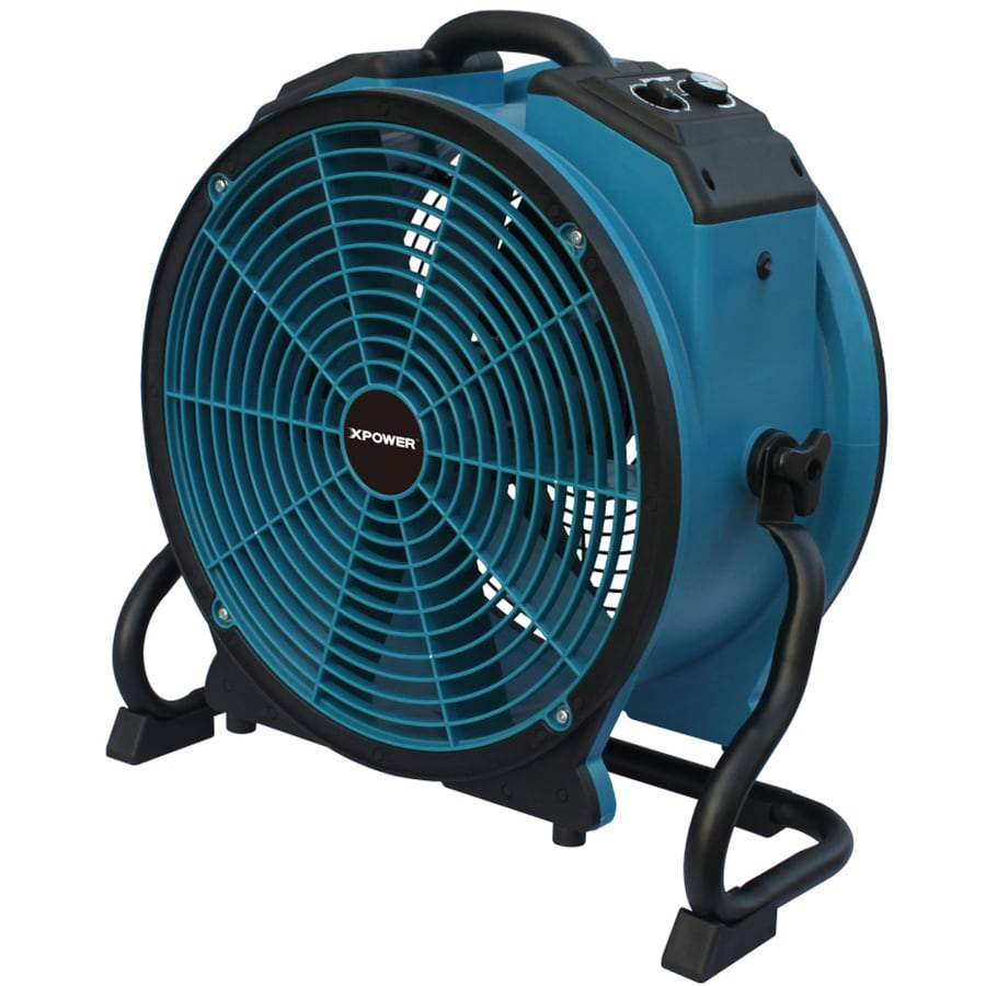 Shop Xpower 21 9 In 10 Speed Air Mover Fan At Lowes Com