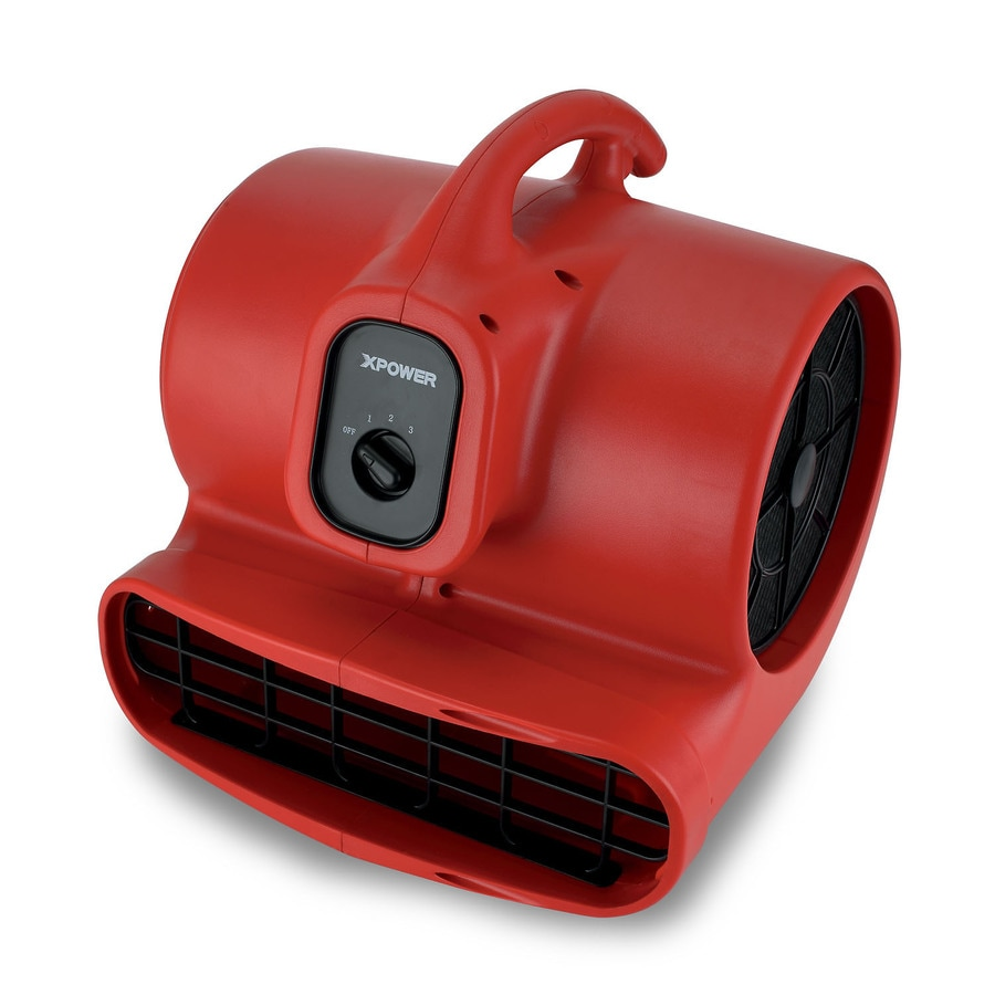 XPOWER 10.25-in 3-Speed Air Mover Fan