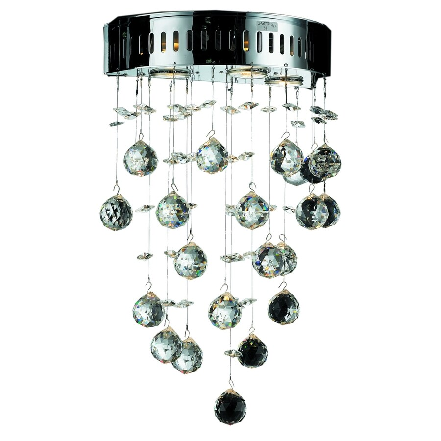 Wall Sconces Not Hardwired : Shop Luminous Lighting 12-in W 1-Light Chrome Pocket Hardwired Wall Sconce at Lowes.com