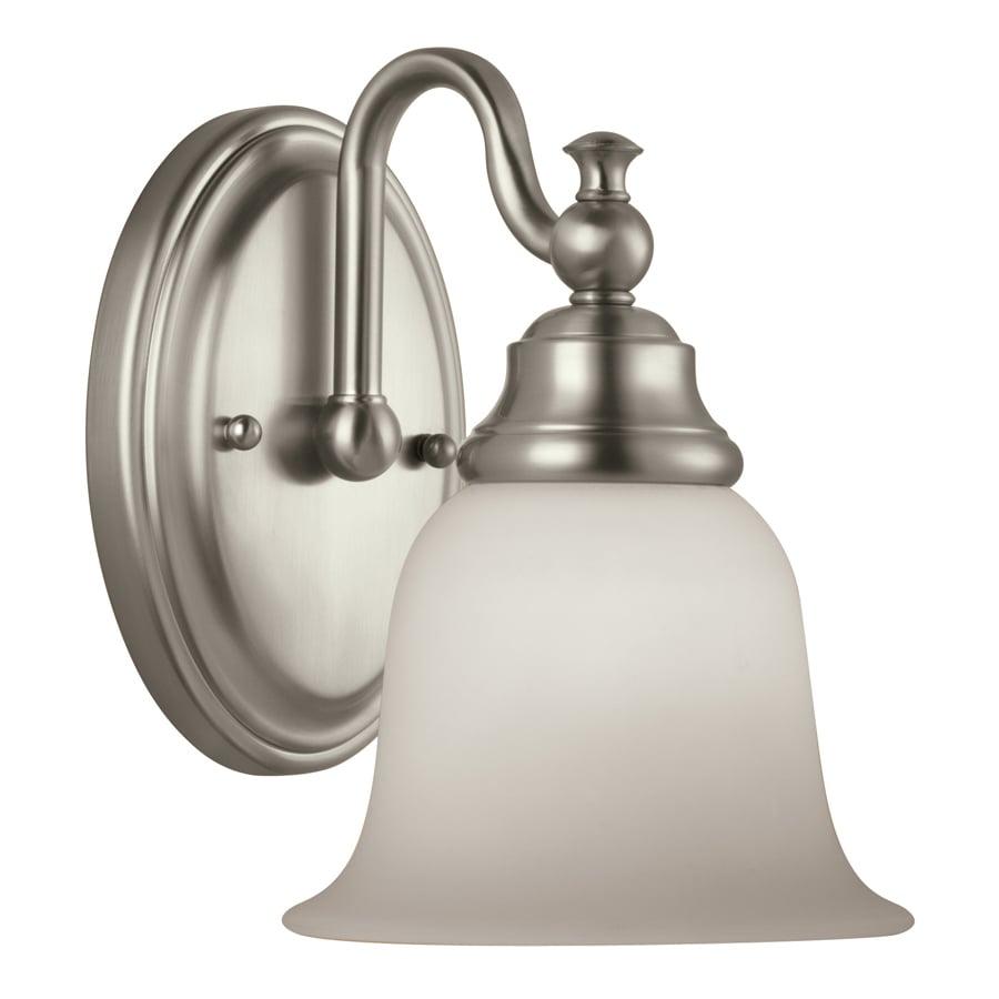 Portfolio Brandy Chase 1-Light Brushed Nickel Vanity Light