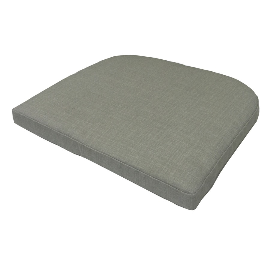 Garden Treasures Neutral Texture Seat Pad for Bistro Chair