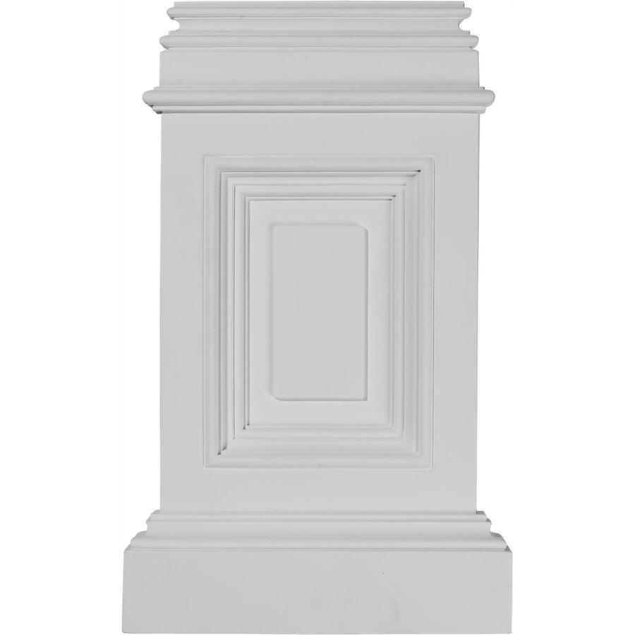 Ekena Millwork Classic 10.875-in x 17.75-in Urethane Plinth
