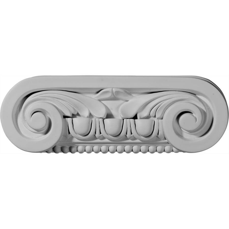 Ekena Millwork Southampton 9.5-in x 0.26-ft Urethane Capital Entry Door Casing Accent