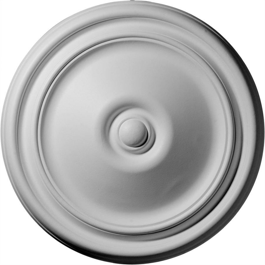 Ekena Millwork Reece 12-in x 12-in Polyurethane Ceiling Medallion
