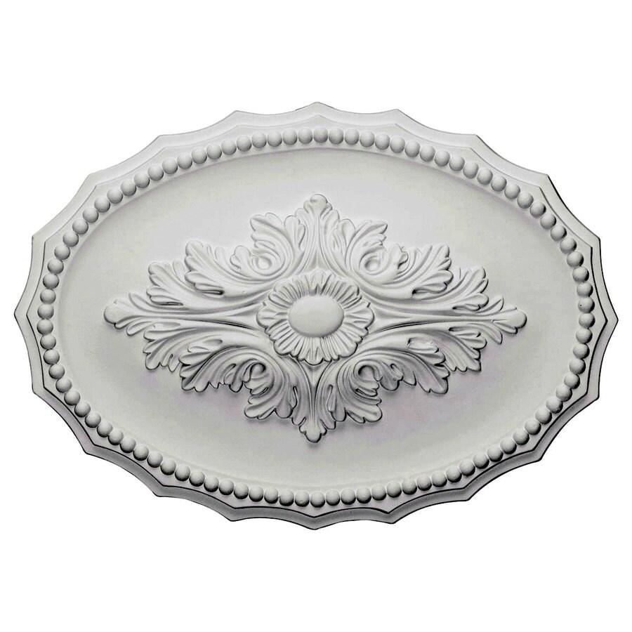 Ekena Millwork Oxford 16.5-in x 16.5-in Polyurethane Ceiling Medallion